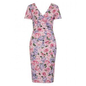 Pink rose dress