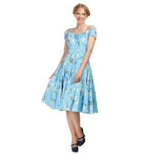 Blue wildflower dress