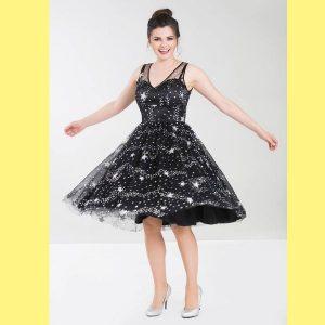 Sparkle star dress twirl
